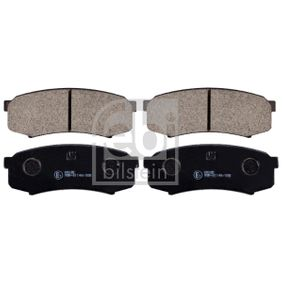 Bremsbelagsatz, Scheibenbremse Breite: 44,0mm, Dicke/Stärke 1: 16mm mit OEM-Nummer 0446660090