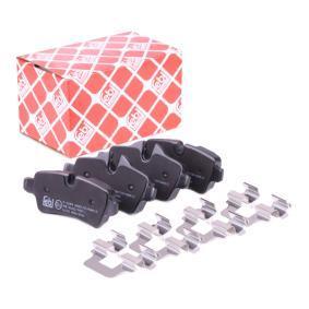 Brake Pad Set, disc brake Article № 16742 £ 150,00