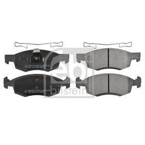 Bremsbelagsatz, Scheibenbremse Breite: 52,5mm, Dicke/Stärke 1: 17,4mm mit OEM-Nummer 41 06 000 Q0C