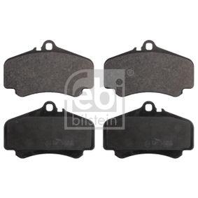 Bremsbelagsatz, Scheibenbremse Breite: 89,0mm, Dicke/Stärke 1: 16,8mm mit OEM-Nummer 99635194910