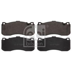 Bremsbelagsatz, Scheibenbremse Breite: 73,5mm, Dicke/Stärke 1: 16,5mm mit OEM-Nummer 34116786044