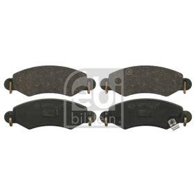 Bremsbelagsatz, Scheibenbremse Höhe: 44,5mm, Dicke/Stärke 1: 15,7mm mit OEM-Nummer 55810-84E00-000