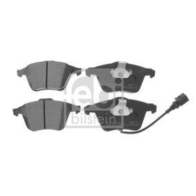 Bremsbelagsatz, Scheibenbremse Breite: 72,8mm, Dicke/Stärke 1: 19,3mm mit OEM-Nummer 8J0698151A