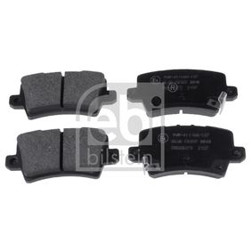 Brake Pad Set, disc brake 16801 CIVIC 8 Hatchback (FN, FK) 2.0 i-VTEC Type R (FN2) MY 2010