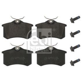 Bremsbelagsatz, Scheibenbremse Höhe: 53mm, Dicke/Stärke 1: 17mm mit OEM-Nummer 1608520380