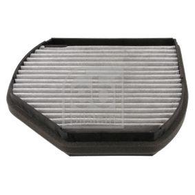 Filter, Innenraumluft Länge: 279mm, Breite: 218,0mm, Höhe: 54mm mit OEM-Nummer 210 830 08 18