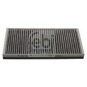Filter, Innenraumluft Länge: 332mm, Breite: 164,0mm, Höhe: 31mm mit OEM-Nummer 46844822