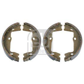 Bremsbackensatz, Feststellbremse Breite: 25,0mm, Ø: 160,0mm mit OEM-Nummer 90 509 606