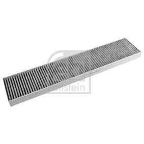 Filter, Innenraumluft Länge: 535mm, Breite: 110,0mm, Höhe: 30mm mit OEM-Nummer 1 491 752
