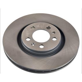 Bremsscheibe Bremsscheibendicke: 22mm, Ø: 280,0mm mit OEM-Nummer 1J0 615 301 M