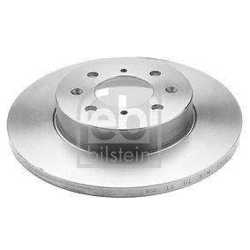 Спирачен диск дебелина на спирачния диск: 13мм, Ø: 261,5мм с ОЕМ-номер SDB000440