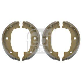 Brake Shoe Set, parking brake Width: 20,0mm, Ø: 160,0mm with OEM Number 3441 6 761 291