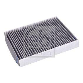 Filter, Innenraumluft Länge: 240mm, Breite: 190,0mm, Höhe: 35mm mit OEM-Nummer 1452 330