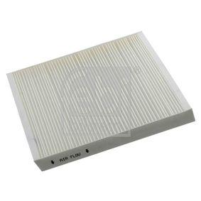 Filter, Innenraumluft Länge: 248mm, Breite: 216,0mm, Höhe: 32mm mit OEM-Nummer 6Q0820367