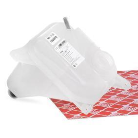 FEBI BILSTEIN Ausgleichsbehälter, Kühlmittel 21190 für AUDI 80 (8C, B4) 2.8 quattro ab Baujahr 09.1991, 174 PS
