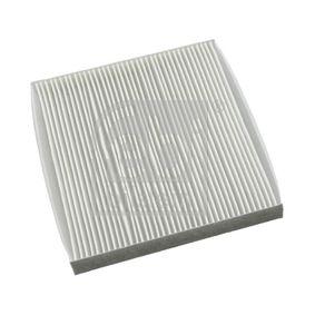 Filter, Innenraumluft Länge: 216mm, Breite: 196,0mm, Höhe: 23mm mit OEM-Nummer GS1D61P11
