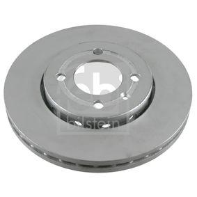 FEBI BILSTEIN  21576 Bremsscheibe Bremsscheibendicke: 25mm, Ø: 256,0mm