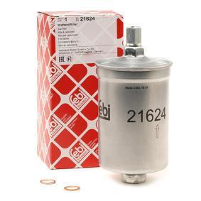 FEBI BILSTEIN Kraftstofffilter 21624 für AUDI 80 (81, 85, B2) 1.8 GTE quattro (85Q) ab Baujahr 03.1985, 110 PS