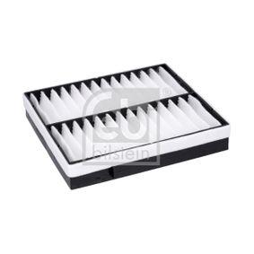 Filter, Innenraumluft Länge: 237mm, Breite: 205,0mm, Höhe: 39mm mit OEM-Nummer 163 835 02 47