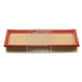 Luftfilter Länge: 300mm, Breite: 100,0mm, Höhe: 50mm, Länge: 300mm mit OEM-Nummer 7701 042 841
