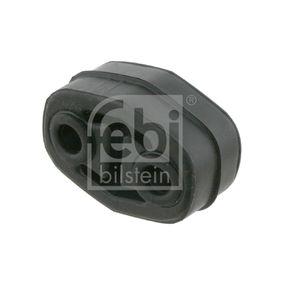 FEBI BILSTEIN Haltering, Schalldämpfer 23652 für AUDI 80 (8C, B4) 2.8 quattro ab Baujahr 09.1991, 174 PS