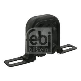 FEBI BILSTEIN Haltering, Schalldämpfer 23656 für AUDI 80 (8C, B4) 2.8 quattro ab Baujahr 09.1991, 174 PS