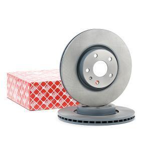 Bremsscheibe Bremsscheibendicke: 25mm, Ø: 312,0mm mit OEM-Nummer 5Q0 615 301F