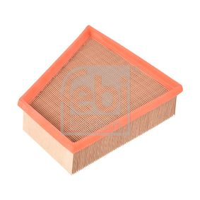 Air Filter Length: 218mm, Width: 213,0mm, Height: 58mm, Length: 218mm with OEM Number 6Y0 129 620