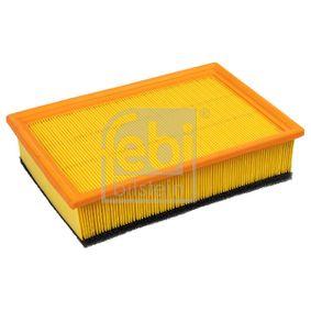 Luftfilter Länge: 280mm, Breite: 185,0mm, Höhe: 65mm mit OEM-Nummer 1LO 129 620