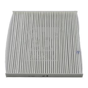 Filter, Innenraumluft Länge: 220mm, Breite: 198,0mm, Höhe: 19mm mit OEM-Nummer 88568-02030