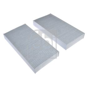 Filter, interior air Length: 225mm, Width: 112,0mm, Height: 30mm with OEM Number 80292-SCA-E11