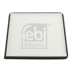 Filter, Innenraumluft Länge: 215mm, Breite: 215,0mm, Höhe: 18mm mit OEM-Nummer 88568 02020