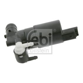Water Pump, window cleaning Voltage: 12V, Number of connectors: 2 with OEM Number 7700430078