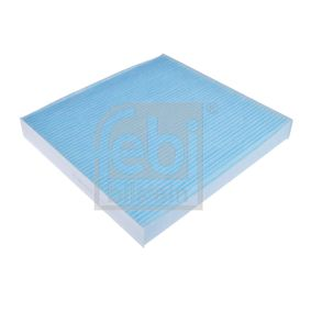 Filter, interior air Length: 235mm, Width: 224,0mm, Height: 30mm with OEM Number 80292SWAA01