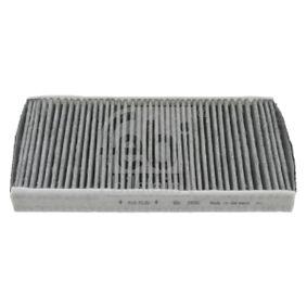 Filter, Innenraumluft Länge: 320mm, Breite: 150,0mm, Höhe: 34mm mit OEM-Nummer 6447TC