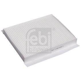 Filter, Innenraumluft Länge: 255mm, Breite: 200,0mm, Höhe: 30mm mit OEM-Nummer 6447 FF