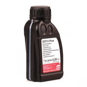Bremsflüssigkeit für OPEL CORSA C (F08, F68) 1.2 75 PS ab Baujahr 09.2000 FEBI BILSTEIN Bremsflüssigkeit (26748) für
