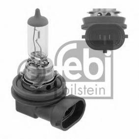 FEBI BILSTEIN Glühlampe, Nebelscheinwerfer 26962 für AUDI A3 (8P1) 1.9 TDI ab Baujahr 05.2003, 105 PS