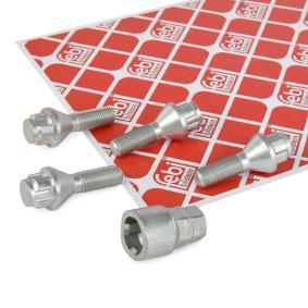 2010 BMW E90 316i 1.6 Locking wheel bolts 27049