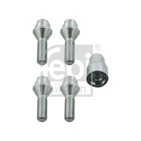 2012 Peugeot 3008 Mk1 2.0 HDi Locking wheel bolts 27052