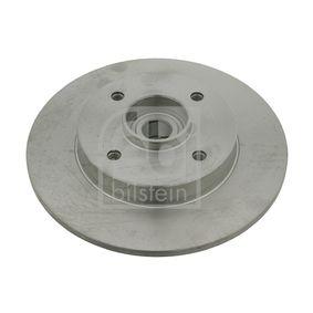 Disco de travão Espessura do disco de travão: 9mm, N.º de furos: 4, Ø: 249,0mm com códigos OEM 4249.34