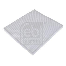 Filter, Innenraumluft Länge: 224mm, Breite: 202,0mm, Höhe: 17mm mit OEM-Nummer 9.71332E210