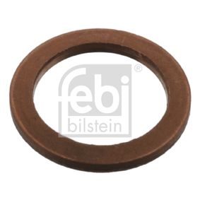 Seal, oil drain plug Ø: 16,7mm, Thickness: 1,3mm, Inner Diameter: 12,5mm with OEM Number 07 11 9 963 151