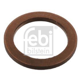 Anello di tenuta, vite di scarico olio Ø: 16,7mm, Spessore: 1,3mm, Diametro interno: 12,5mm con OEM Numero 1026 1060