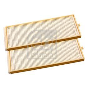 Kit de filtros, recirculación aire habitáculo 27943 GETZ (TB) 1.5 i ac 2004