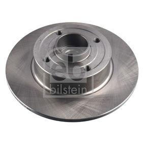 Bremsscheibe Bremsscheibendicke: 8mm, Ø: 240,0mm mit OEM-Nummer 82 00 038 305