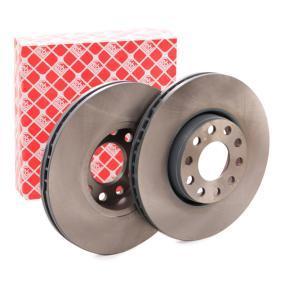 Bremsscheibe Bremsscheibendicke: 25mm, Ø: 288,0mm mit OEM-Nummer 4B0 615 301B