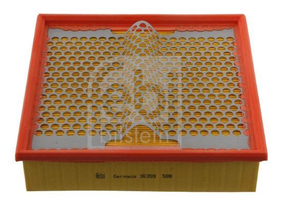 FEBI BILSTEIN  30359 Luftfilter Länge: 225mm, Breite: 230,0mm, Höhe: 66mm, Länge: 225mm