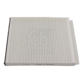 Filtro, aire habitáculo Long.: 247mm, Ancho: 210,0mm, Altura: 19mm con OEM número EC965-39649