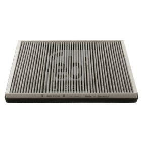 Filter, Innenraumluft Länge: 355mm, Breite: 234,0mm, Höhe: 35mm mit OEM-Nummer 68012876AA